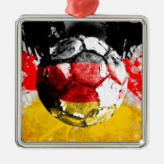 football germany christmas ornament