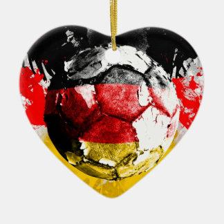 football germany christmas ornament