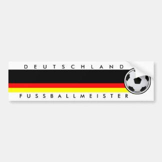 Football Germany football master Sticker Bumper Sticker