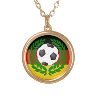 Football Germany of soccer Germany Personalized Necklace