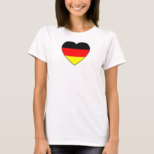 Football Germany Top heart