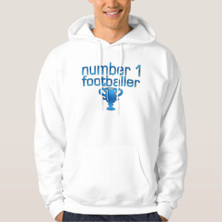 Football Gifts for Him: Number 1 Footballer Hoodie