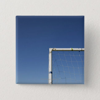 Football Goal 15 Cm Square Badge