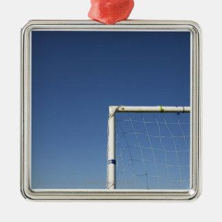 Football Goal Christmas Ornament