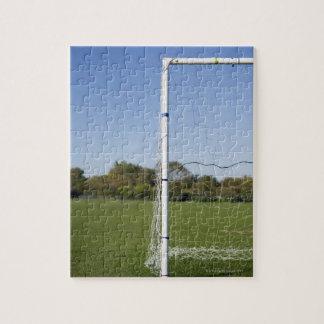 Football goal jigsaw puzzle