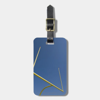 Football Goal Post 2 Luggage Tag