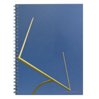 Football Goal Post 2 Spiral Notebook
