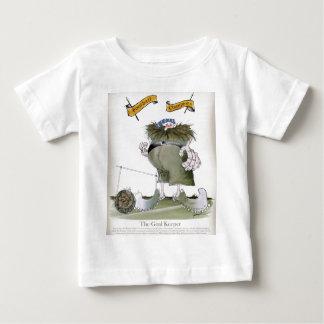 football goalkeeper 'blues' baby T-Shirt