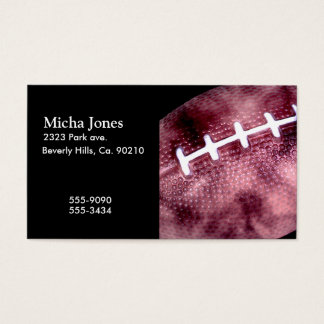Football Grunge Style Business Card