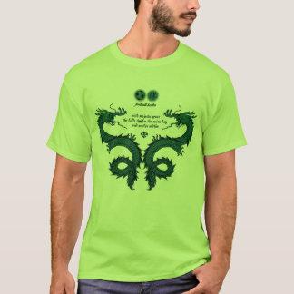 Football Haiku #5 (Lime) T-Shirt