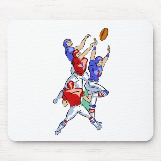 Football Hail Mary Mouse Pad