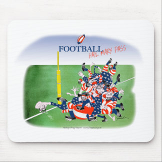 Football 'hail mary pass', tony fernandes mouse mat