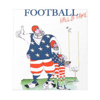 Football hall of fame, tony fernandes notepads