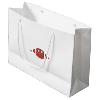Football head large gift bag