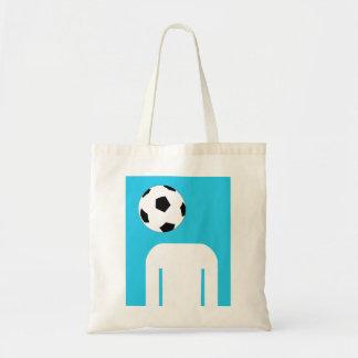 Football head tote bag