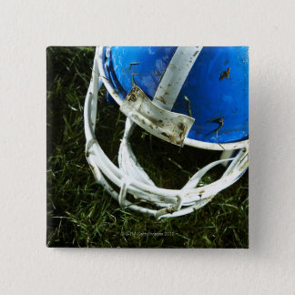 Football Helmet 15 Cm Square Badge