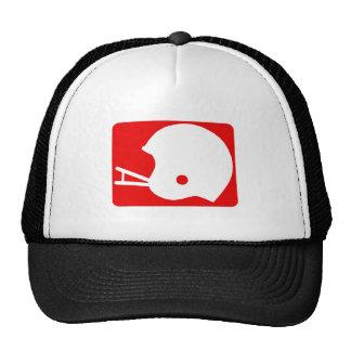 football helmet logo hat
