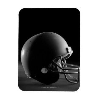 Football helmet rectangular photo magnet