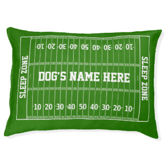 Football Hero Your Color Gridiron Pet Bed