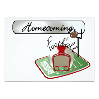 Football Homecoming Invitation - SRF