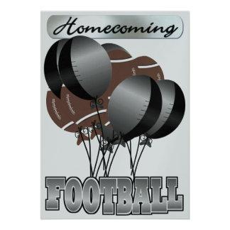 Football Homecoming Party Invitation by SRF