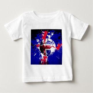 football Iceland Baby T-Shirt