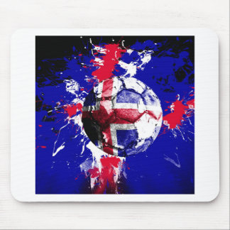 football Iceland Mouse Mat