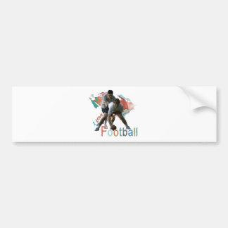 Football iGuide Team Bumper Sticker