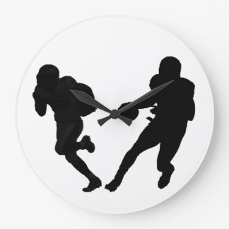 Football image for Round (Large) Wall Clock
