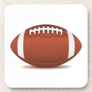 FOOTBALL IMAGE ON ITEMS BEVERAGE COASTER