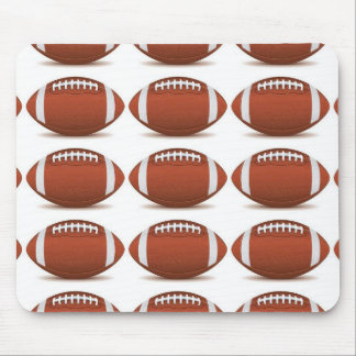 FOOTBALL IMAGE ON ITEMS MOUSE MAT