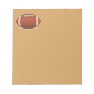 FOOTBALL IMAGE ON ITEMS NOTEPADS