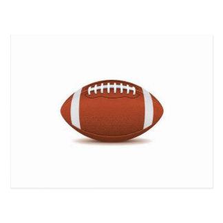 FOOTBALL IMAGE ON ITEMS POSTCARD
