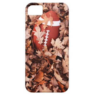Football in Autumn Leaves iPhone 5 Cases