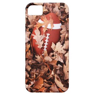Football in Autumn Leaves iPhone 5 Cover