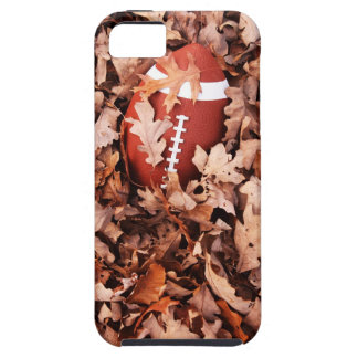 Football in Autumn Leaves iPhone 5 Covers