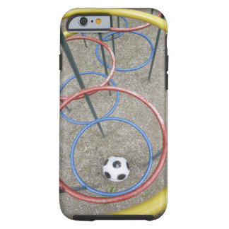 Football in Playground Tough iPhone 6 Case