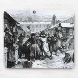 Football in the Jews' Market, St. Petersburg Mouse Pad