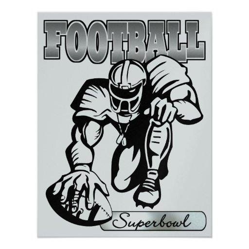 Football  Invitation by SRF