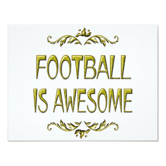 Football is Awesome Card