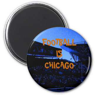 FOOTBALL IS CHICAGO MAGNET