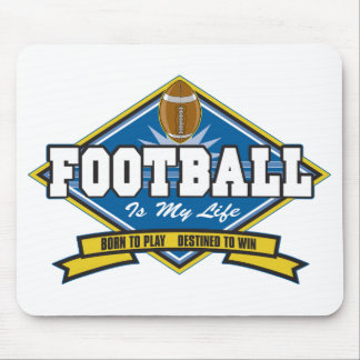 Football Is My Life Mouse Pads