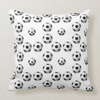 Football isolated on white background. cushion