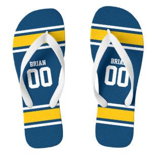 762b407f679ee6 Football Flip Flops   Sandals