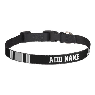 Football Jersey - Customise with Your Info Dog Collar
