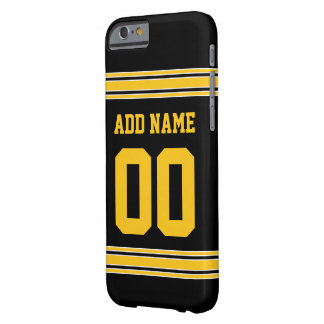 Football Jersey - Customize with Your Info Barely There iPhone 6 Case