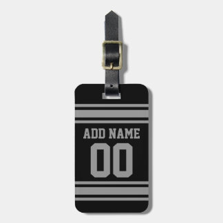 Football Jersey - Customize with Your Info Travel Bag Tags
