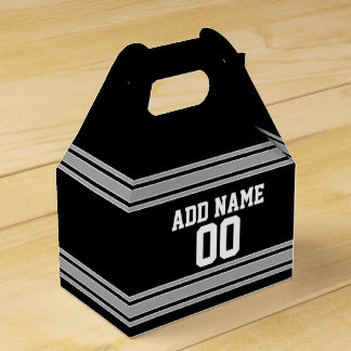 Football Jersey - Customize with Your Info Wedding Favour Box