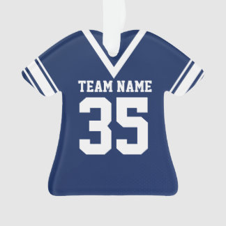 Football Jersey Dark Blue Uniform