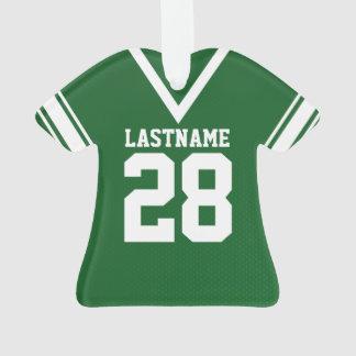 Football Jersey Green Uniform